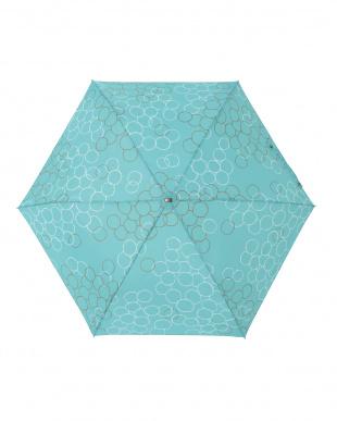 バブルミント  レジェ フラット折りたたみ傘見る
