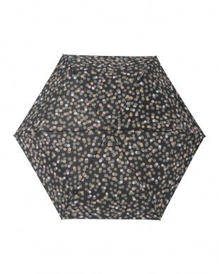 グロウノワール レジェ フラット折りたたみ傘見る