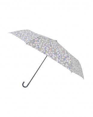 グロウグレー  レジェ フラット折りたたみ傘見る