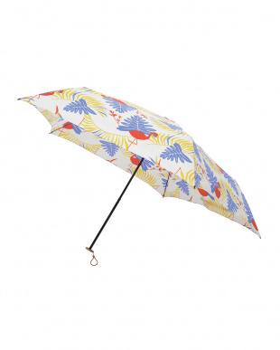 サファリ ブルー 軽量折りたたみ傘(デザイン)見る