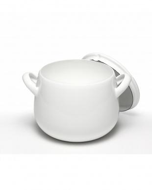 ホワイト  スープポット見る