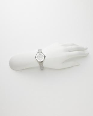 シルバー ソーラーテック 時計 スター秒針見る