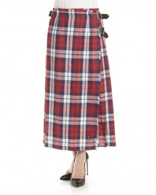 レッド  MOD KILT LONG スカート見る