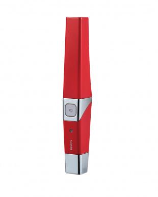 レッド 音波振動式USB充電歯ブラシ見る