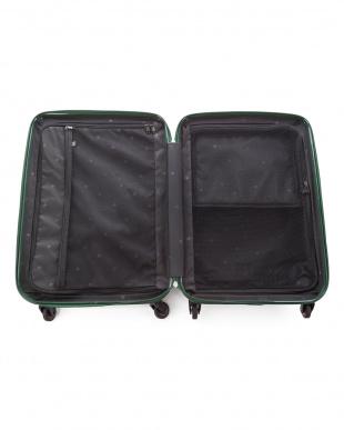 ネイビー  シェルパー Mサイズ 59L スーツケース見る