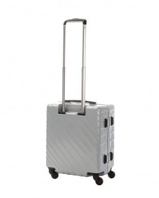 シルバー ナロースクエア S 40L スーツケース見る