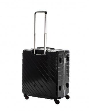 ブラック  ナロースクエア L 80L スーツケース見る