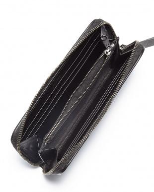 Black  Long  Zip  Wallet見る