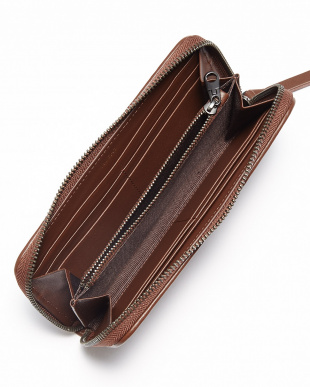 Brown  Long  Zip  Wallet見る