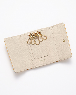 Brown  キーケース付財布見る