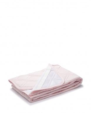 ピンク  冷感敷きパッド Q-MAX0.294 100×205cm見る