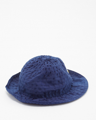 ネイビー  ヴァカンス帽見る