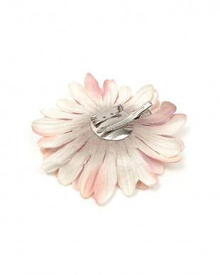 ピンク系 フラワー髪飾り 約11×11cm|WOMEN見る