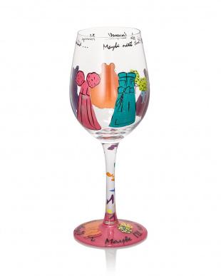 Always a Bridesmaidワイングラス見る