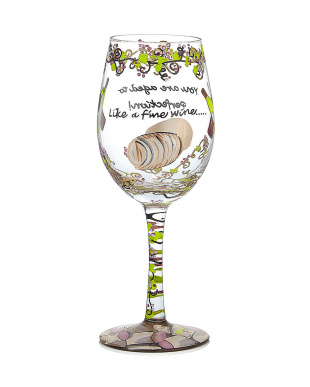Like a Fine Wineワイングラス見る