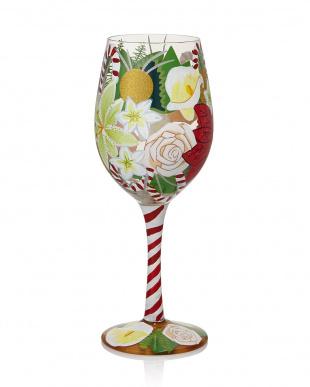 HOLIDAY BOUQUET 4ワイングラス見る