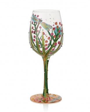 DRAGONFLYワイングラス見る