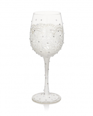 Bride ワイングラス見る