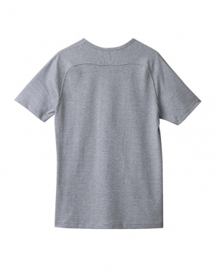 グレーモク フリーダムスリーブVネックTシャツ見る