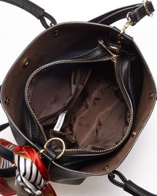 ブラック  WWT  2wayベーシックハンドバッグ見る