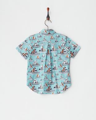 ヨット  コットンプリントシャツ見る