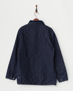 INDIGO DENIM QUILTING JACKET見る
