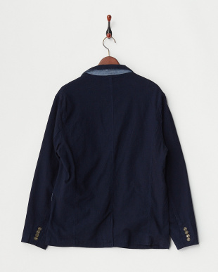 INDIGO INDIGO JACQUARD TAILORED JACKET見る