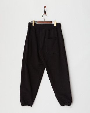 BLACK HEAVY WEIGHT SWEAT PANTS見る