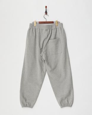 GREY HEAVY WEIGHT SWEAT PANTS見る