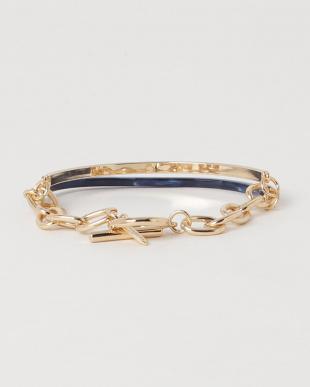 Brown  Acrylic Chain Bracelet見る