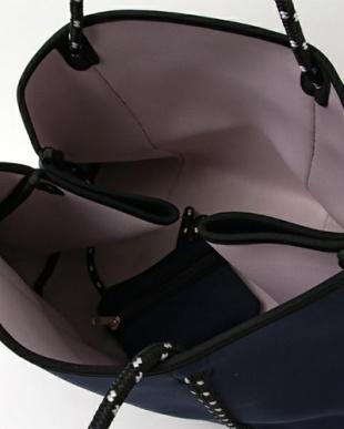Navy NeoPlane Tote Bag見る