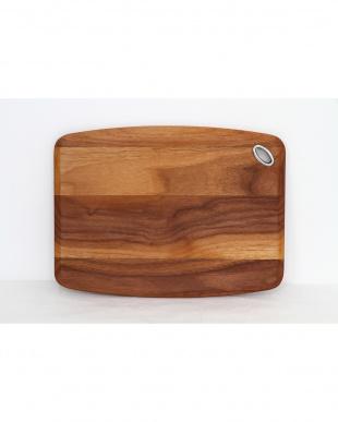 B.ウォールナット カッティングボード 30×22.5×1.5cm見る