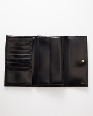 ブラック rrr-18 パンサーレザー3つ折り長財布見る