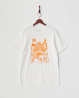 WHT×ORG Mt Design3776×1% FOR THE PLANET T-Shirt見る