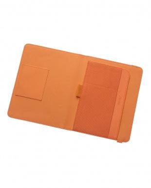 オレンジ スモール メトロポール エラスティックTC タブレットケース見る