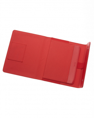 レッド ラージ サフィアーノ ラップTC タブレットケース見る