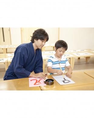 武田双雲 水で書ける はじめてのお習字 かん字見る