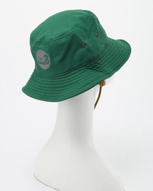 グリーン  機能素材アドベンチャーハット(FUNCTIONAL MATERIALS AD HAT)見る