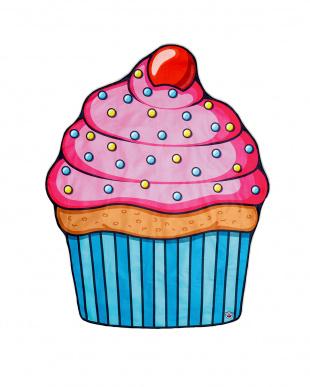 ビッグマウス ビーチブランケット カップケーキ見る