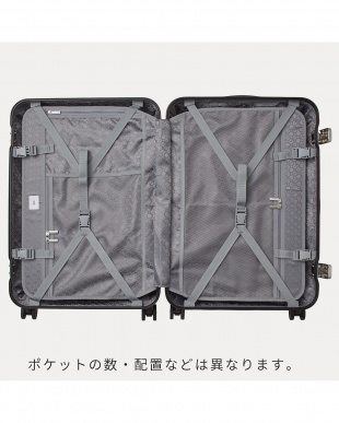 ネイビー  リップルF スーツケース 87L見る