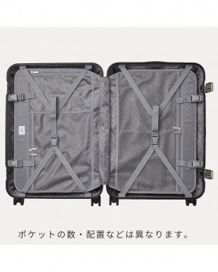 ホワイト  リップルF スーツケース 87L見る