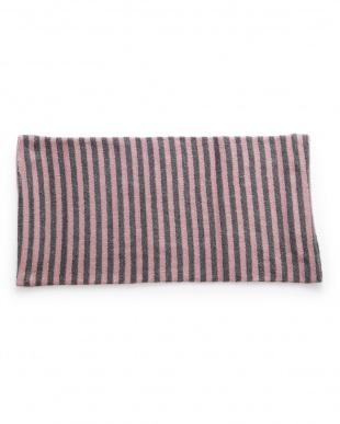 ピンク  備長炭繊維配合のびのびピロカバー見る