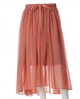 ピンク1 《SUPERIOR CLOSET》シースルーフィッシュテールスカート INED L size見る