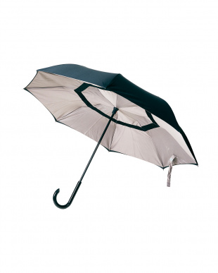 ベージュ(BEBK)  2重傘 circus(サーカス) 晴雨兼用見る