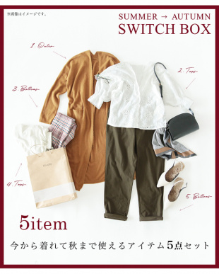 ミックス SUMMER→AUTUMN SWITCH BOX見る