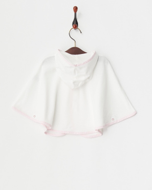 ピンク  UVカットポンチョ|BABY見る