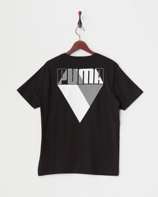 COTTON BLACK グラフィックブランド SS Tシャツ見る