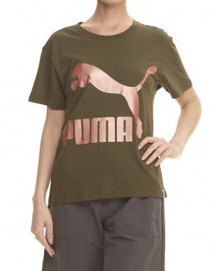 OLIVE NIGHT アーカイブロゴ Tシャツ見る