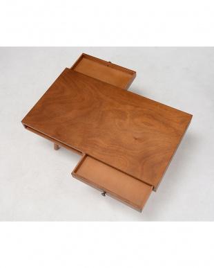 引出し付きローテーブル 90×50×38cm見る