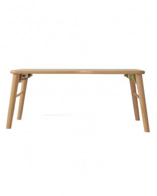 NA mite 軽いパイン材 折れ脚テーブル見る
